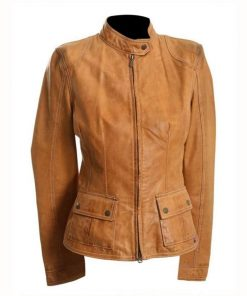The Avengers Natasha Romanoff Brown Jacket