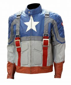 The First Avenger Steve Rogers Jacket