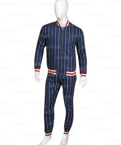 The Gentlemen Coach Collin Farrel Navy Tracksuit