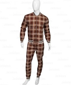 The Gentlemen Collin Farrel Brown Tracksuit