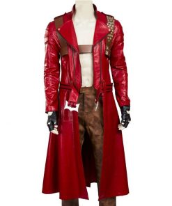 Dante Devil May Cry 3 Trench Red Coat