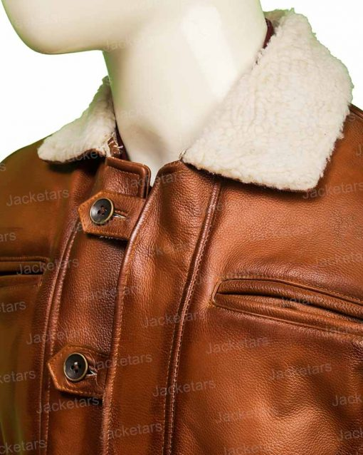 Dark Knight Rises Bane Brown Leather Coat