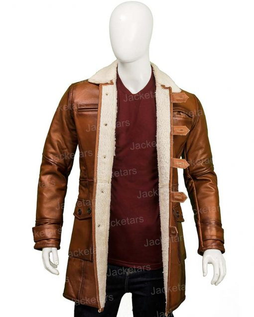 Dark Knight Rises Bane Tom Hardy Leather Coat