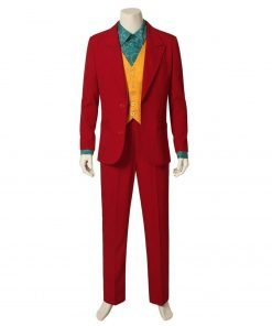 Arthur Fleck 2019 Joker Red Suit