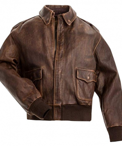 Stranger Things Billy Brown Leather Jacket