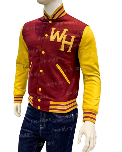 The Society Jason Letterman Varsity Jacket