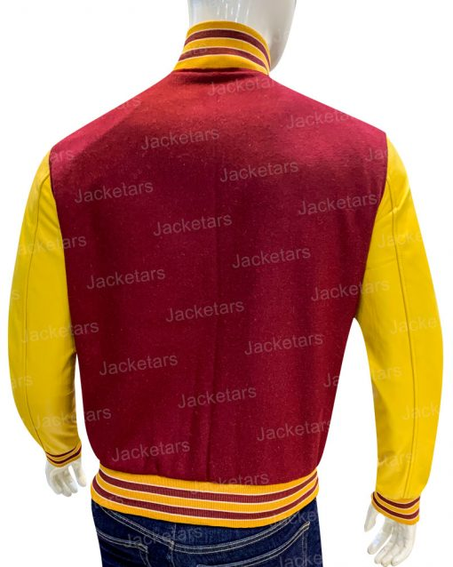 The Society Jason Varsity Jacket