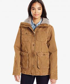 Monica Dutton Yellowstone S02 Brown Jacket