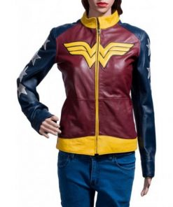 Princess Diana Wonder Woman Leather Jacket